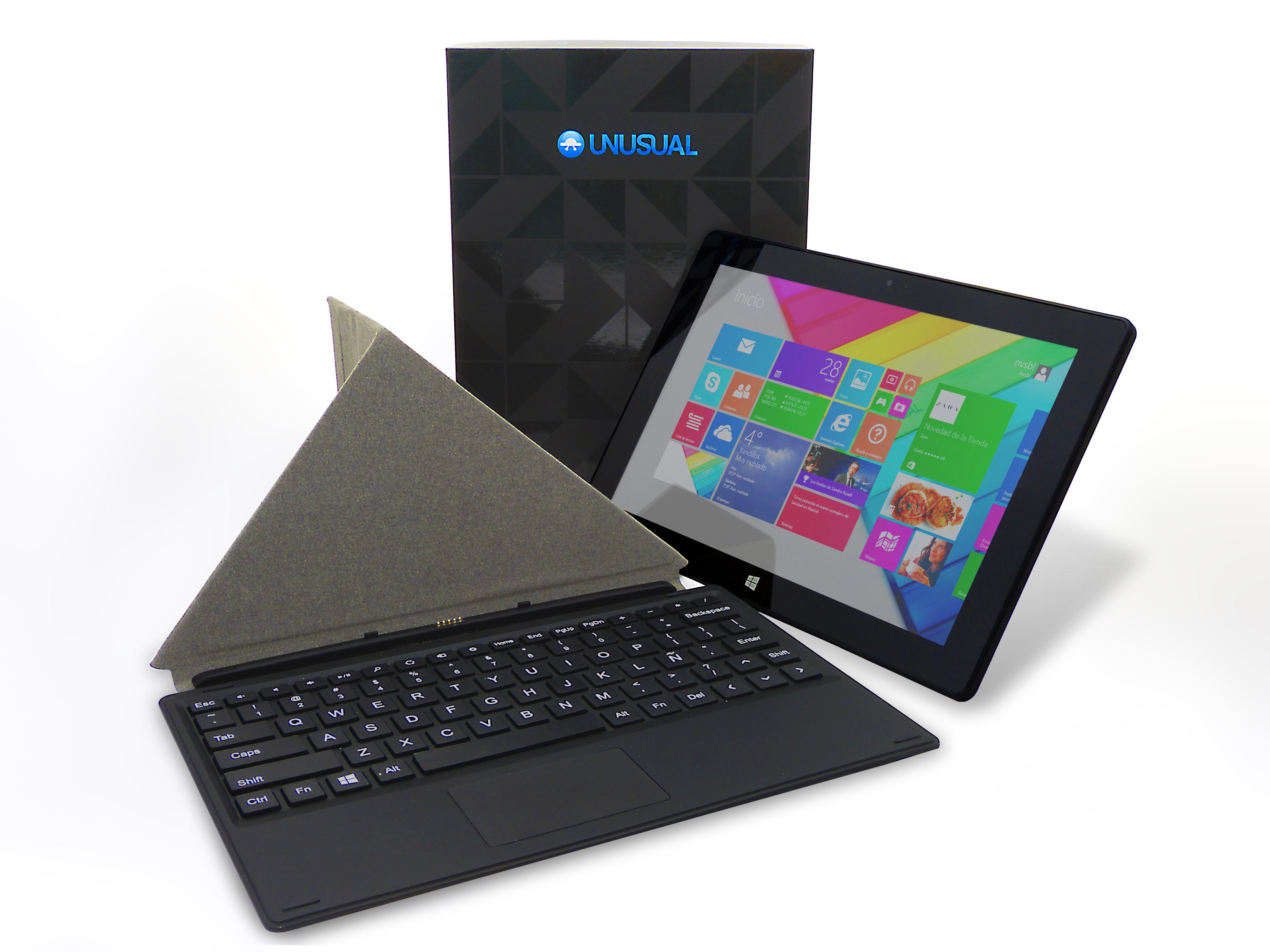 UNUSUAL presenta en Melco 2014  su nueva tablet 2 en 1 UNUSUAL 10W