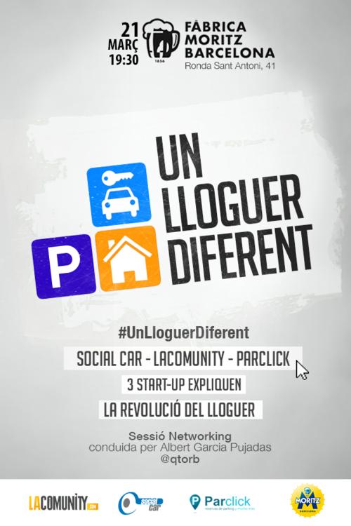 #UnLloguerDiferent