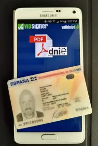 """[Premsa (castellà)] """"Firmar con el nuevo DNI desde el móvil ya es posible gracias a la nueva app de ViDSigner"""""""