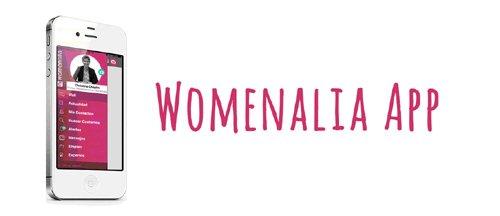 Womenalia lanza la primera app que permite geolocalizar a los contactos profesionales