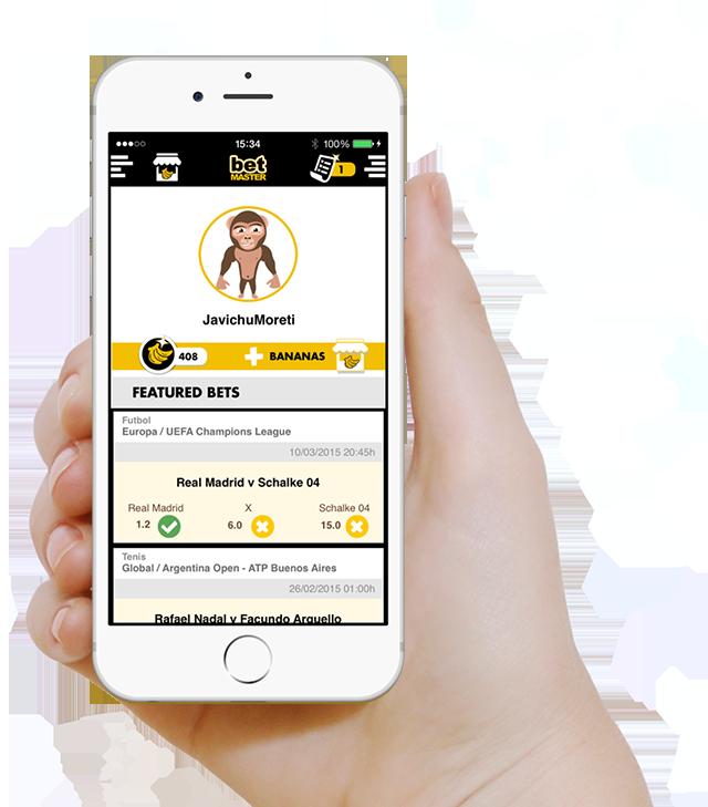 betMaster, la 'porra' deportiva con tus amigos y familiares en una app