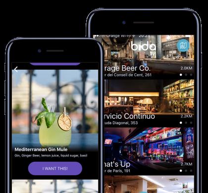 Llega a Barcelona la primera aplicación española que ofrece una bebida gratis al día