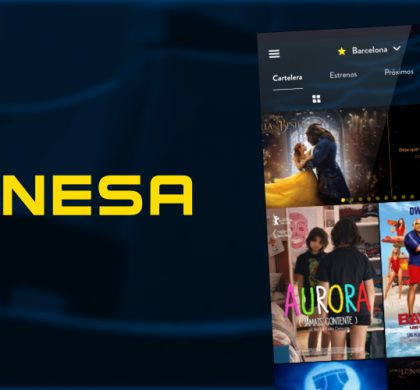 Pangea Reality rediseña por completo la app de Cinesa, la red de salas de cine más importante de España