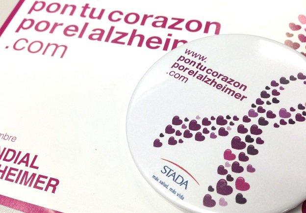 """La campaña solidaria """"Pon tu corazón por el Alzheimer"""" lanza el reto, por segundo año consecutivo, de conseguir 800.000 mensajes de apoyo por las personas con Alzheimer"""