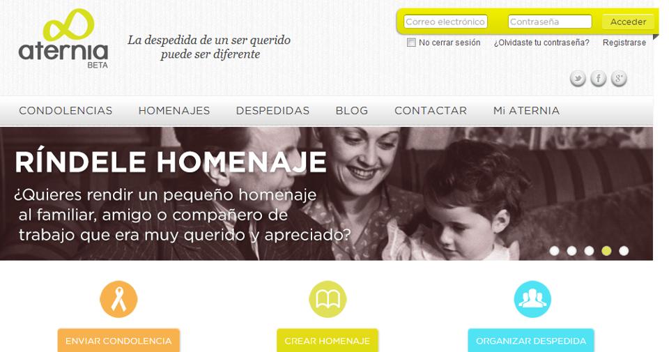 Aternia diseña una herramienta online para conservar recuerdos