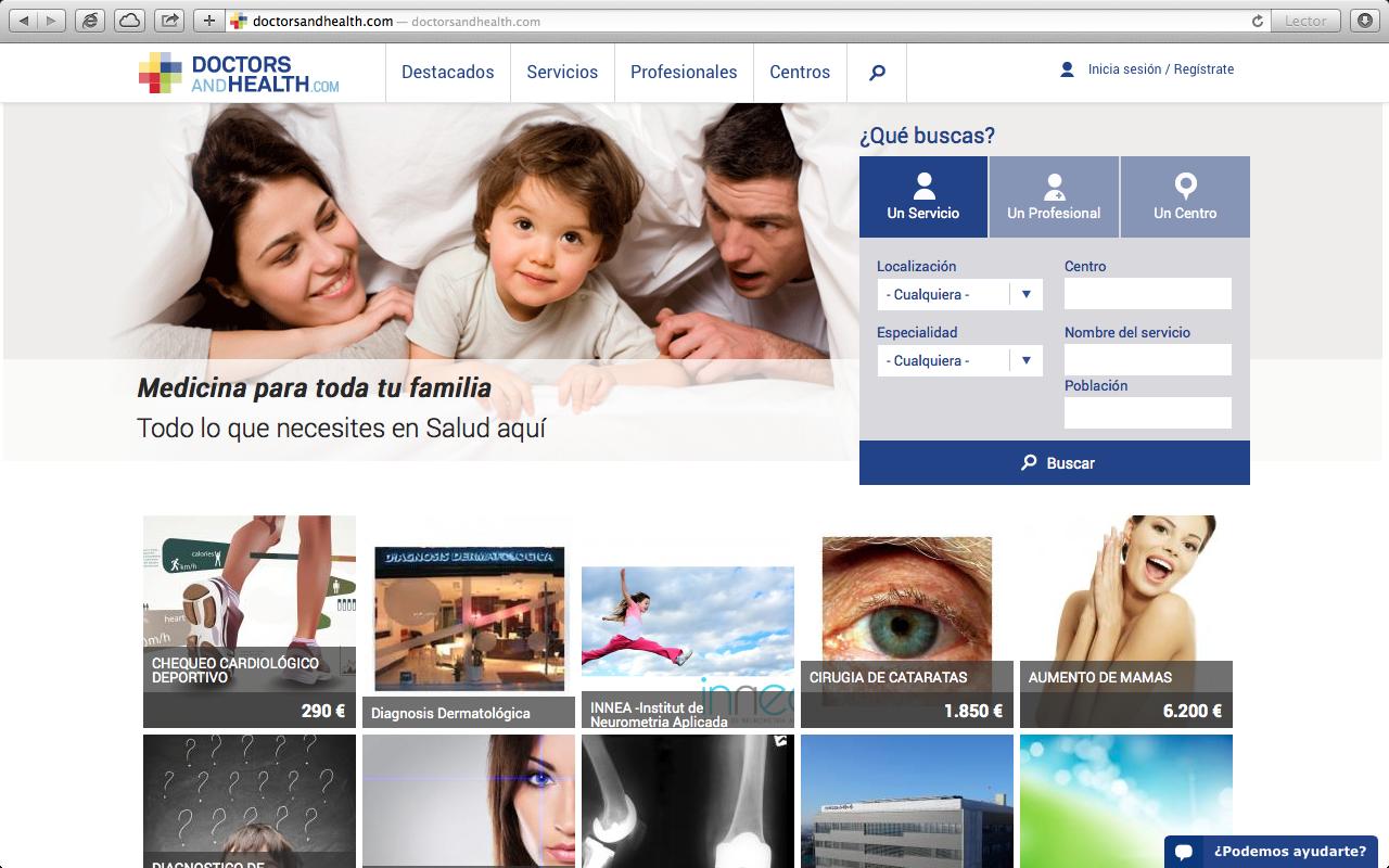 Nace el portal de referencia en la contratación de servicios médicos privados