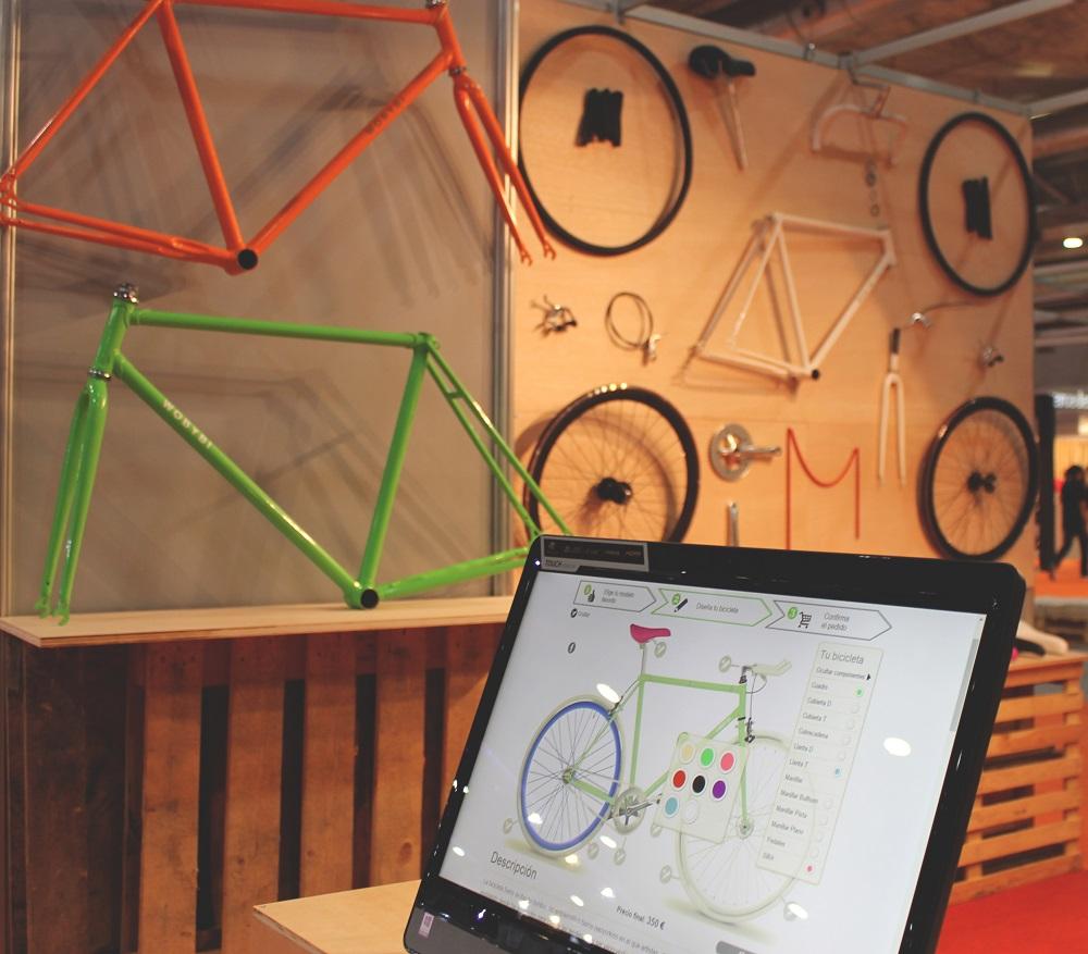 Diseña tu bicicleta de paseo personalizada en 3 minutos