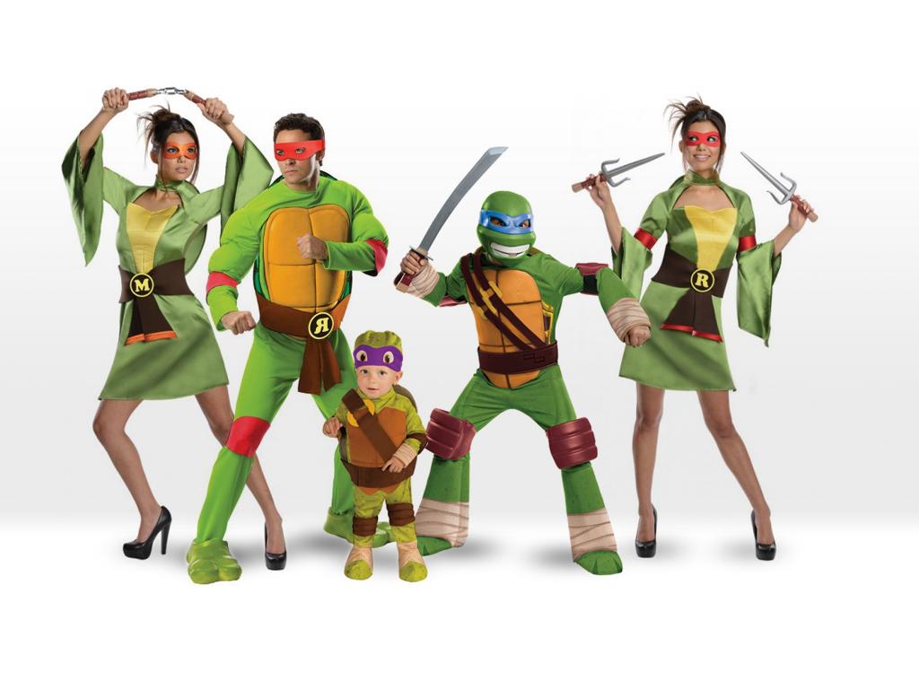 Los disfraces de las míticas Tortugas Ninja, los favoritos para este Carnaval
