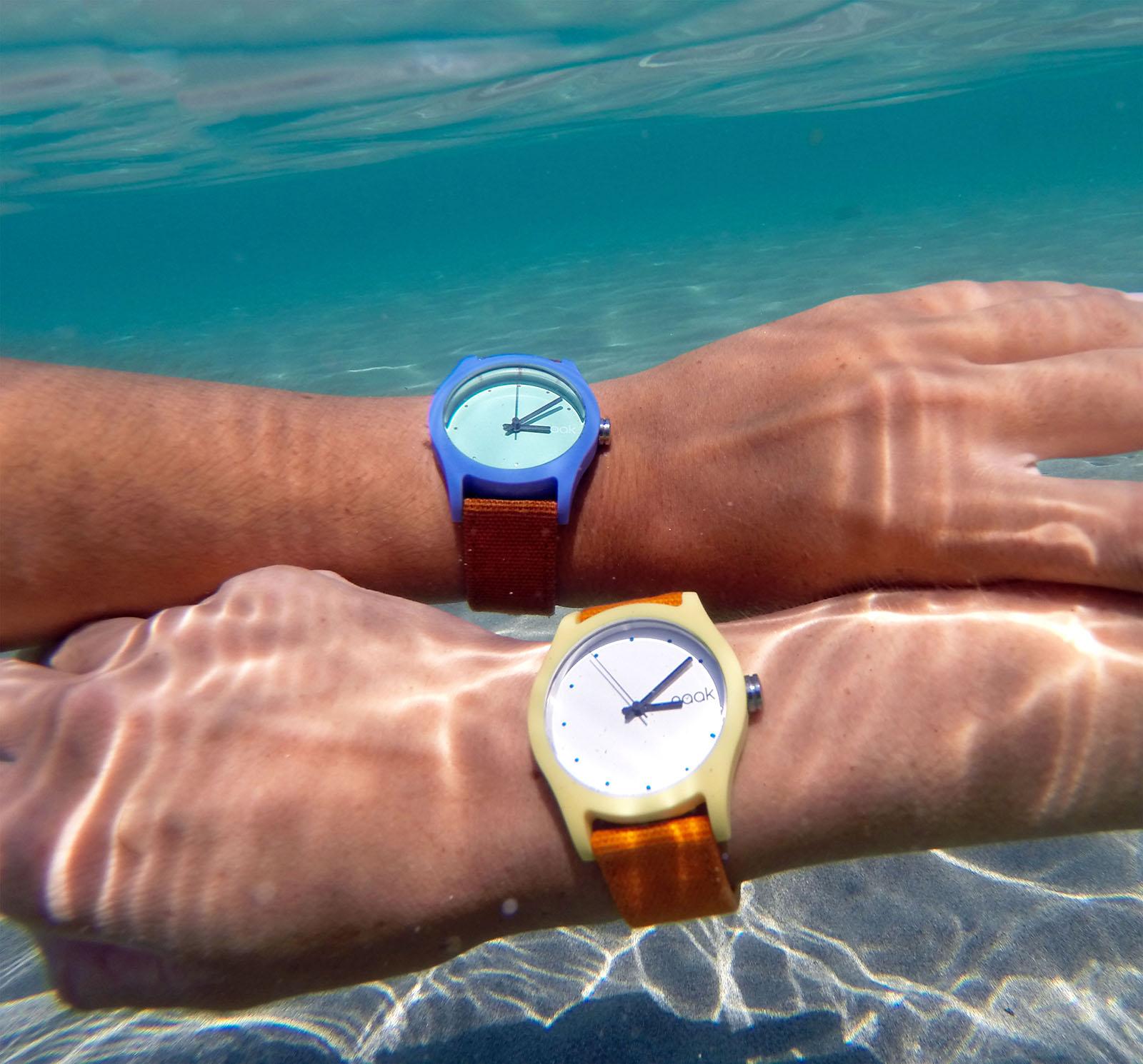 Nace Naak Time, la nueva firma de relojes sumergibles y solidarios para los jóvenes