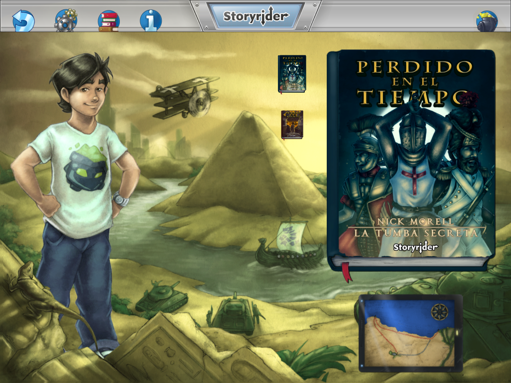 Lectura y videojuego se unen en Storyrider