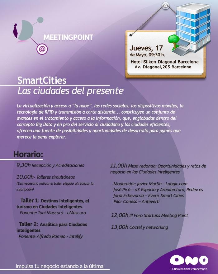Barcelona acoge el encuentro Smart Cities Meeting Point (#MeetingPointSC)