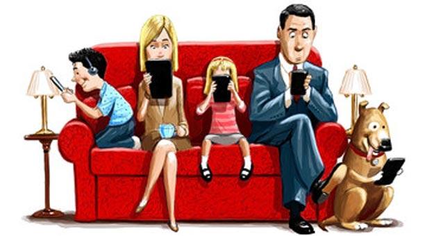 Ya somos consumidores multitarea