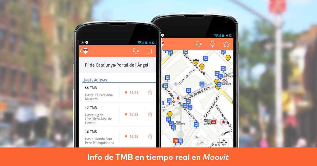 Moovit impulsa el open data para mejorar la calidad del transporte público en España